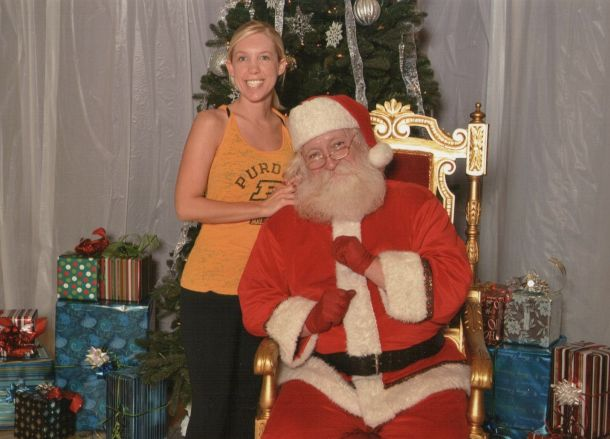 Post image for Working Out With Santa