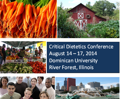 Post image for 4th International Critical Dietetics Conference