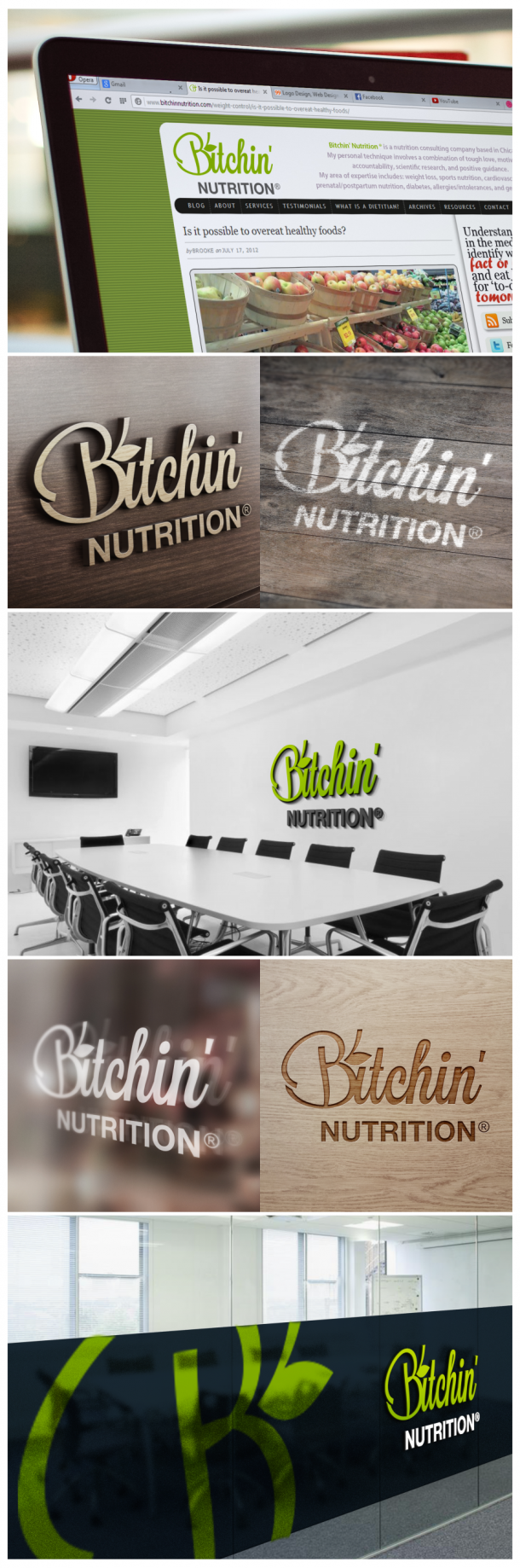 Bitchin' Nutrition Green Gray Mock_ups